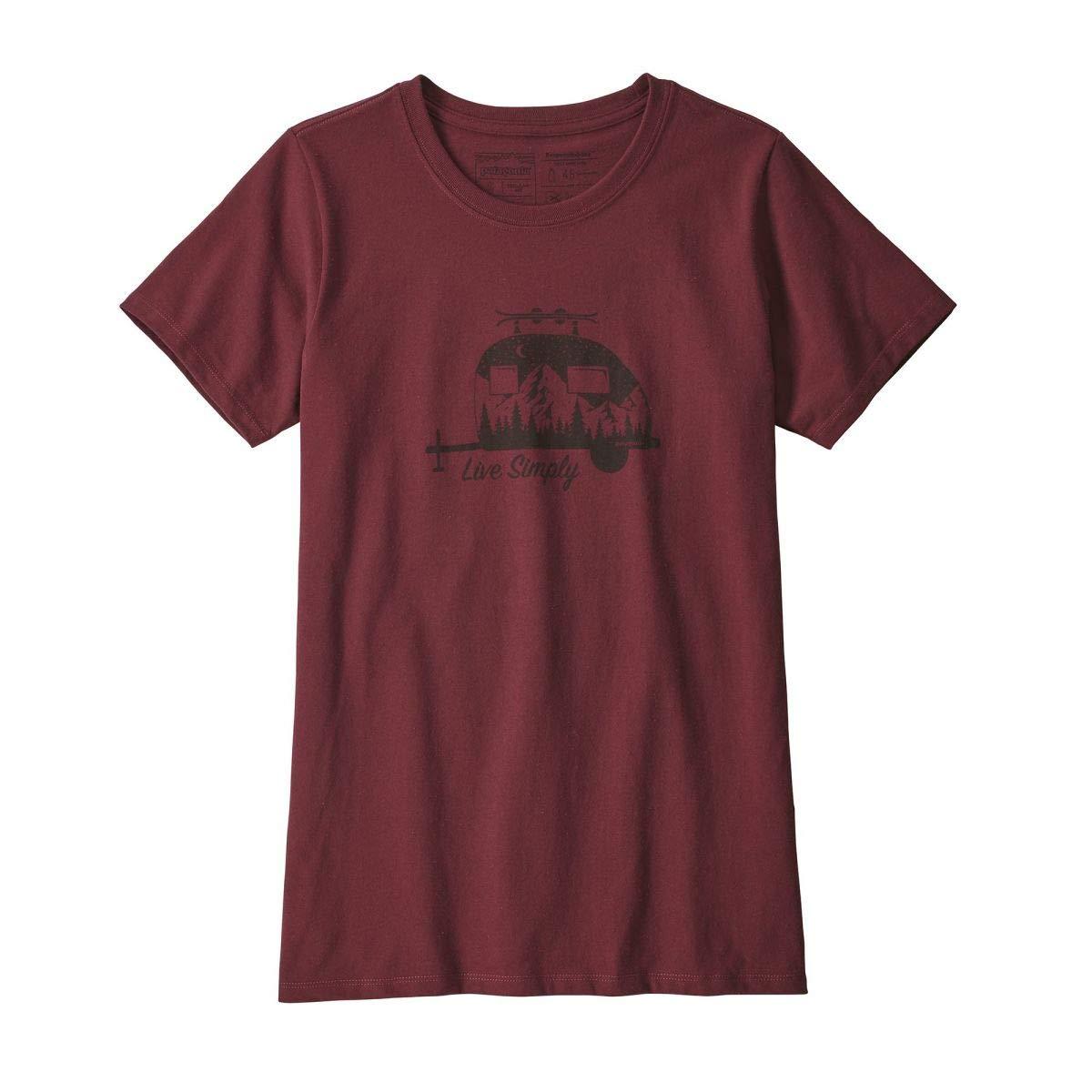 Patagonia Damen Trailer live Simply responsibili t-Shirt Funktionsshirt