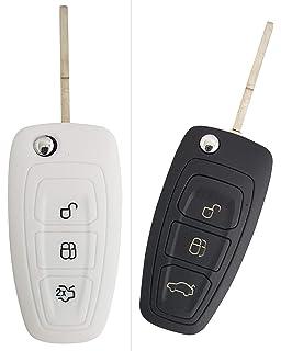 YLC 2 Piezas Silicona Funda para Llave de Coche Car Key ...