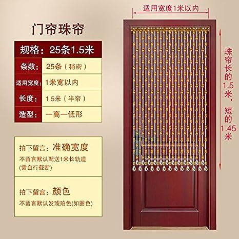 LIUSHU Kürbis Perlen Feng Shui Curtain Crystal Trennwand ...
