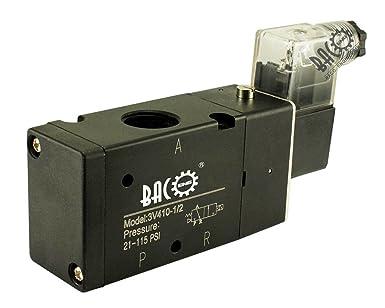BACOENG AC230V BSP 2 Postion 0.32 cm 0.64 cm 1.27 cm 0.95 cm neumático mecánico de
