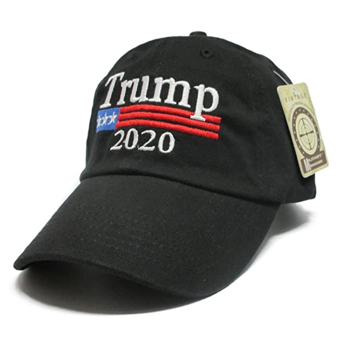Trump 2020 Keep America Great MAGA hat Cap Made in The USA! (Black ... 009864fb9dfc