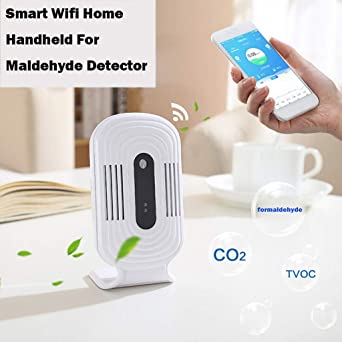 DDLmax Air Quality Monitor, Formaldehyde Detector, LCD Digital Air Quality Monitor PM2