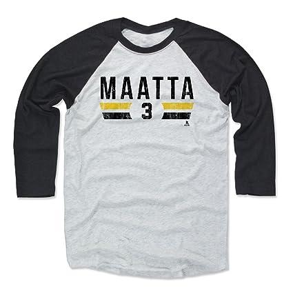 buy popular f301b 9c2a2 Amazon.com : 500 LEVEL Olli Maatta Shirt - Pittsburgh Hockey ...