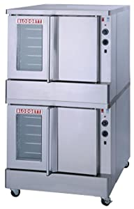 Blodgett SHO-100-E DBL Double Full Size Electric Convection Oven - 208v/1ph