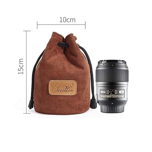 Olprkgdg - Bolsa Protectora con cordón para cámara Nikon Canon ...