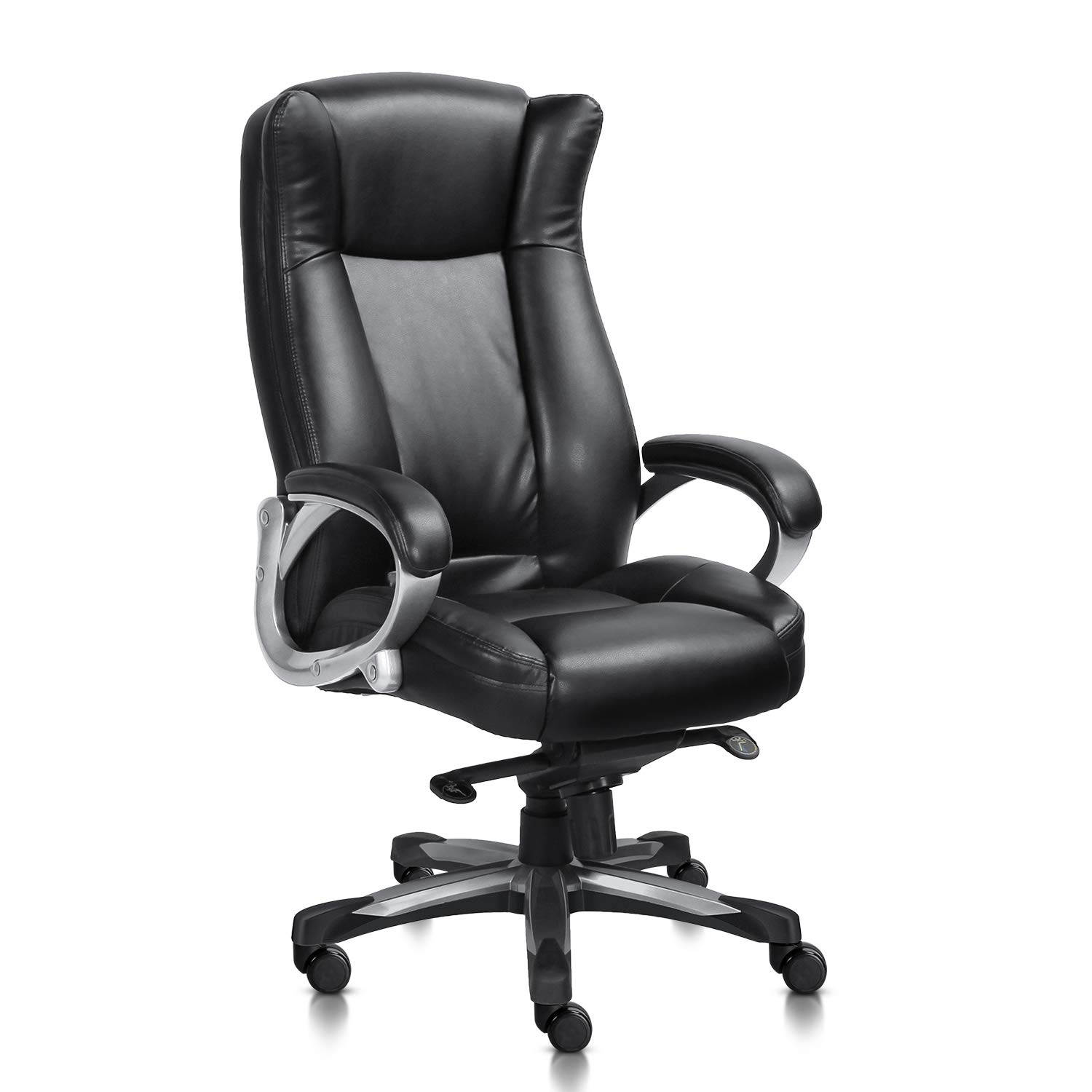 Furniture Home Office Chairs High Back Black