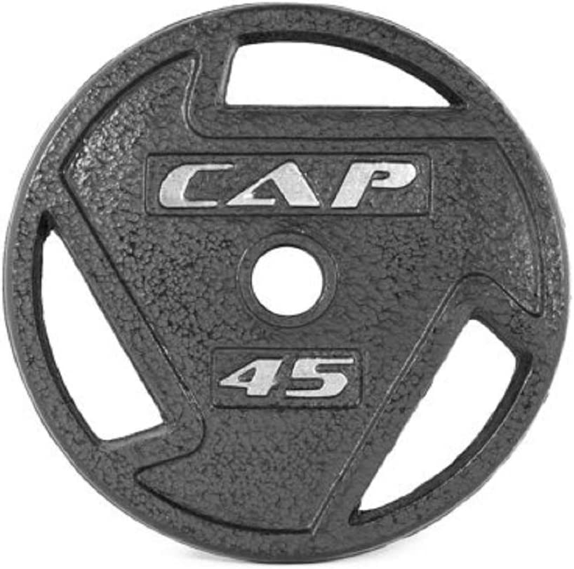 CAP Barbell 2-Inch Olympic Grip Plate 45 Lbs x 2