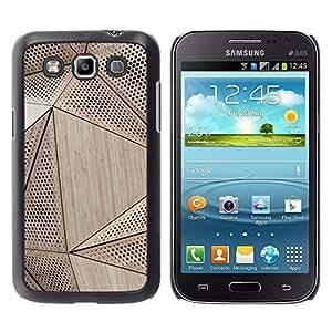 WonderWall Fondo De Pantalla Imagen Diseño Trasera Funda Carcasa Cover Skin Case Tapa Para Samsung Galaxy Win I8550 I8552 Grand Quattro - madera patrón de arquitectura de la ingeniería