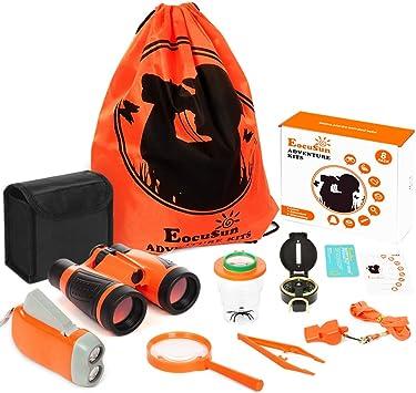EocuSun Adventure Kids - Kit de exploración al aire libre, juguetes educativos para explorador al aire libre