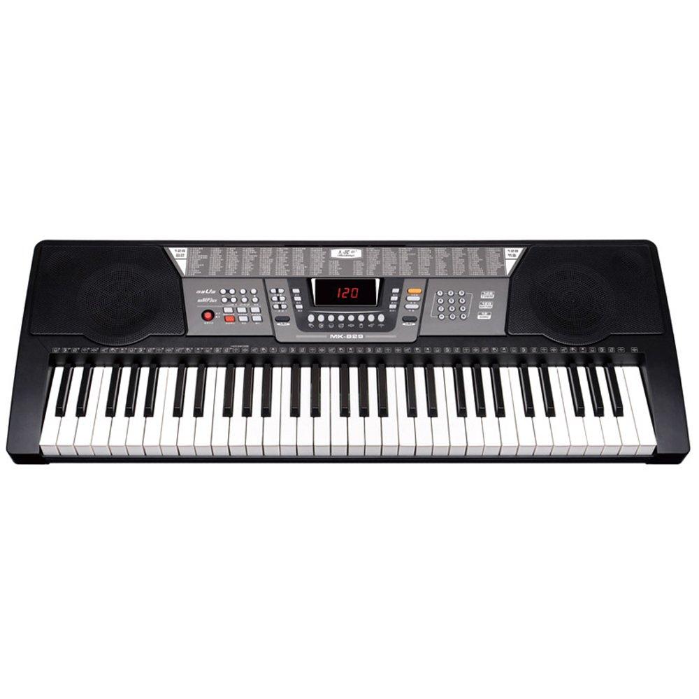 Boshen 61 Key Electronic Digital Piano Electric Organ Full Size Portable Electric Keyboard (128 timbres)