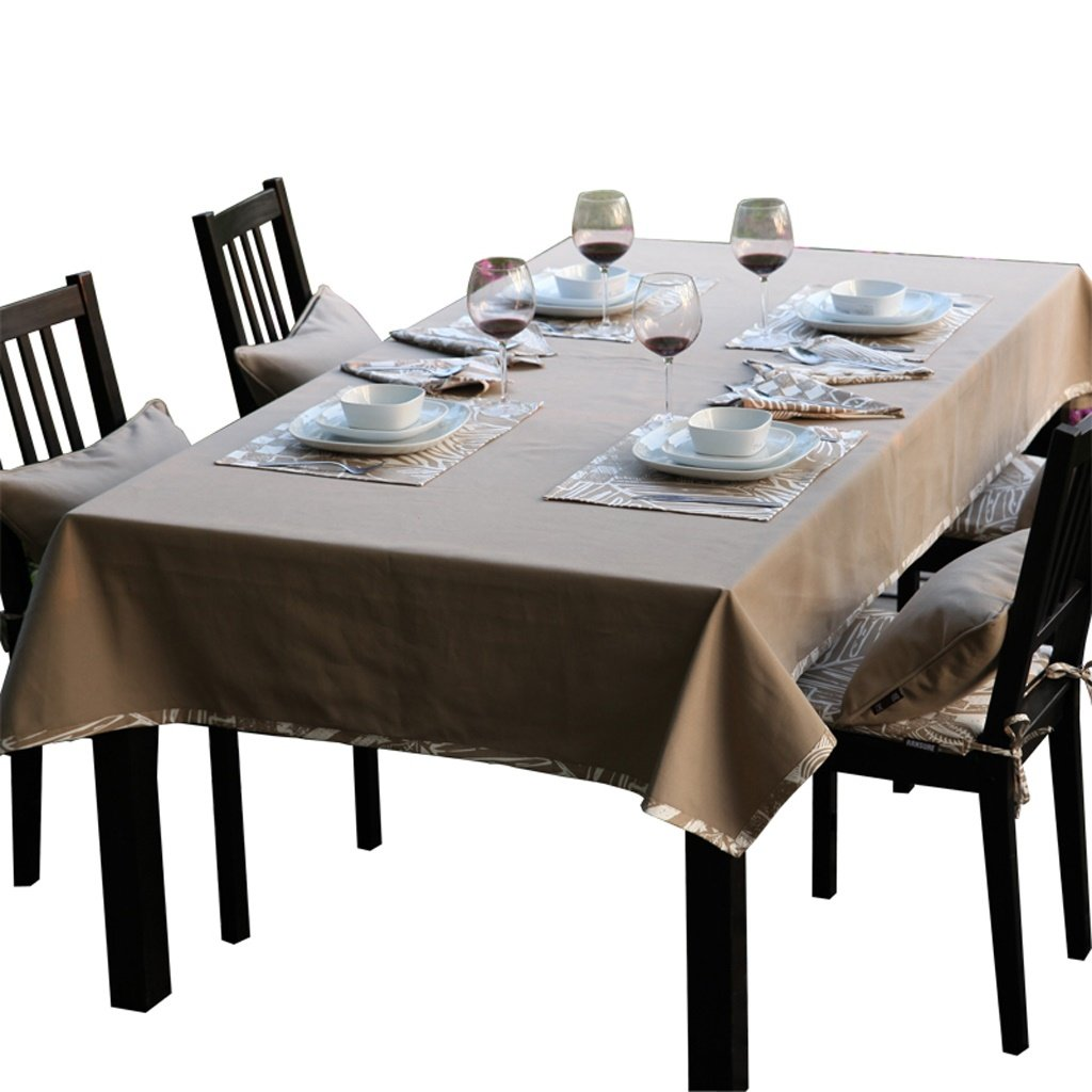 140200cm uus Simple Modern Table Cover cotton material envionmental breathable washable nofade different sizes for your choice ( PATTERN   Plant Pattern , Size   140140cm )
