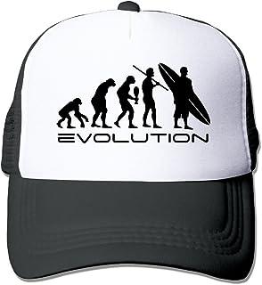 Feruch Evolution Of A Surfer Trucker Hats Black