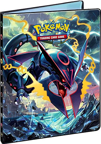 Ultra-Pro Pokemon Card Portfolio Album featuring Rayquaza & Groudon Ancient Origins (9-Pocket Album/Portfolio Holds 90-180 Cards) by Pokemon (Image #2)