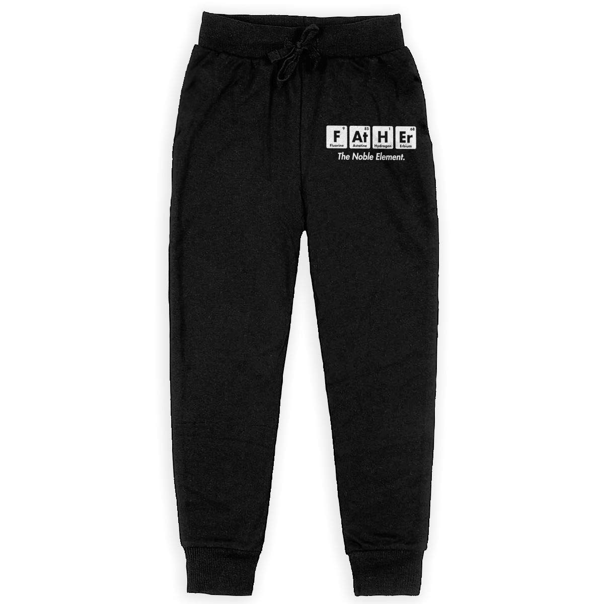 Kim Mittelstaedt Father Element Boys Big Active Basic Casual Pants Sweatpants for Boys Black