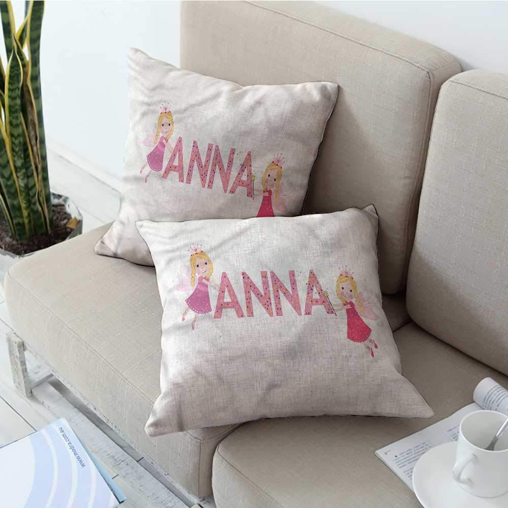 Amazon.com: Ediyuneth Fundas de almohada estándar Anna ...