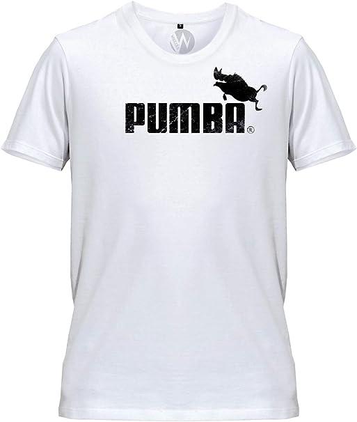 Hommes T Shirt Pumba Parodie Sport Logo: