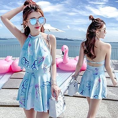 GAOLIM Jupe Fendue Maillot Maillot De Filles Style Conservateur Femelle Poitrine Taille De Rassembler Un Grand Nombre Hot Spring Maillot