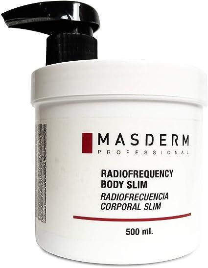 MASDERM   Crema Anticelulítica Reafirmante Reductora Radiofrecuencia   500 ml   Gel Anticelulitico Corporal Profesional Potente   Hombre y Mujer   ...