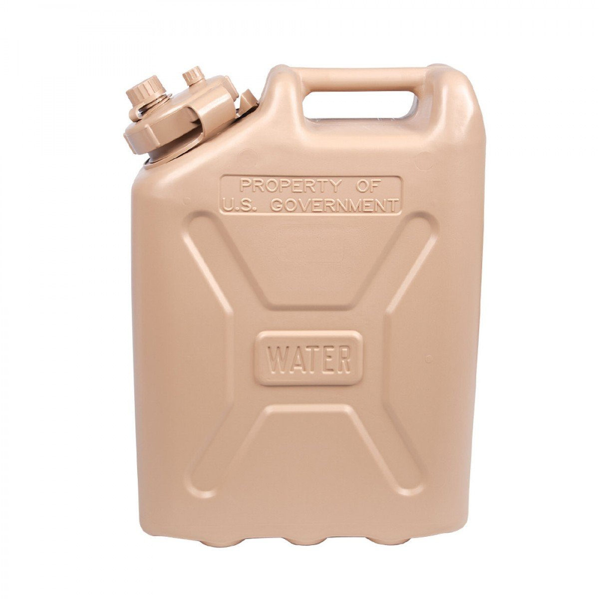 LCI Plastic Water Can, Desert Sand, 5-gallon by LCI