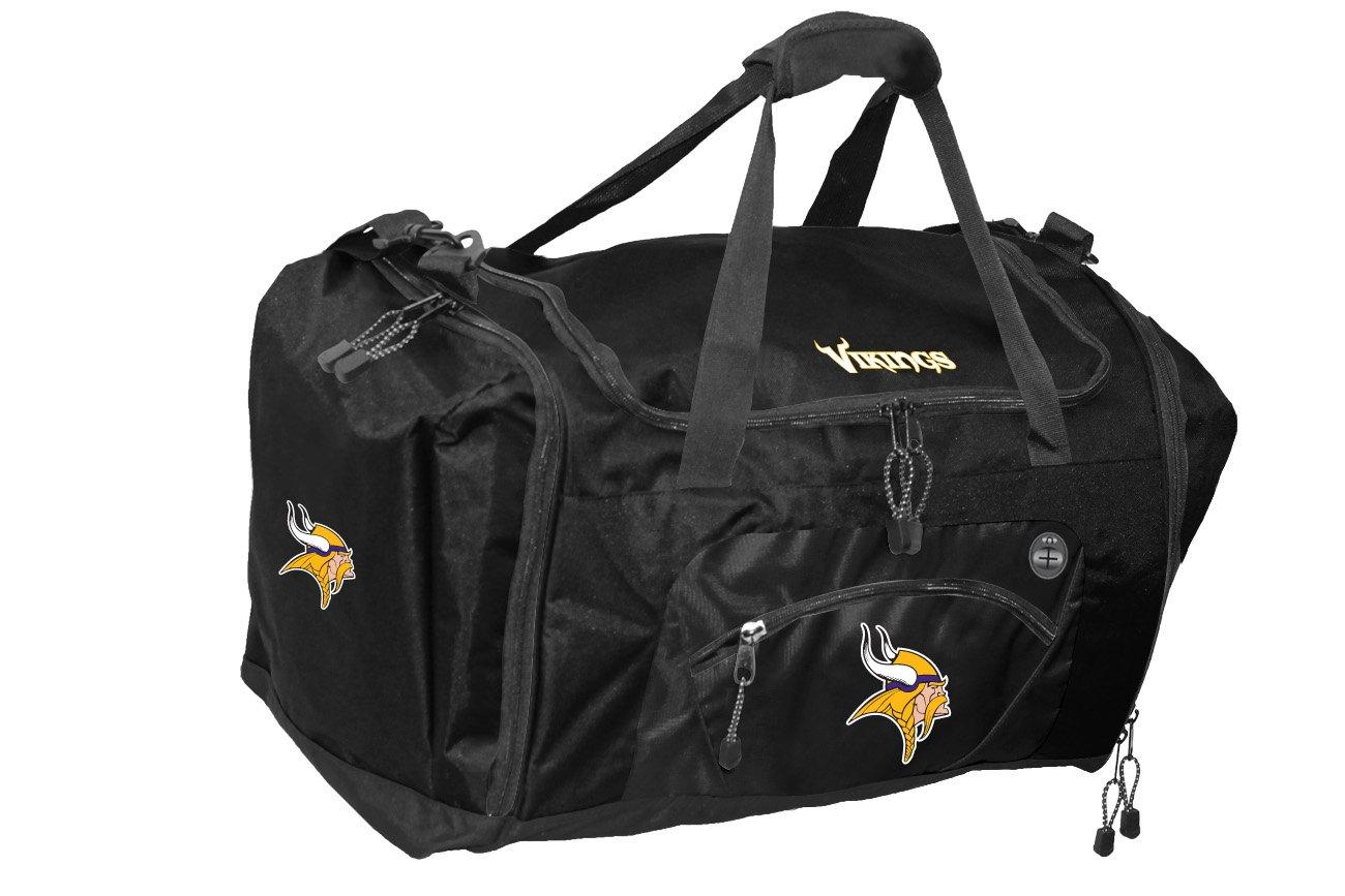 The Northwest Company Officially Licensed NFL Minnesota Vikings Roadblock Duffel Bag