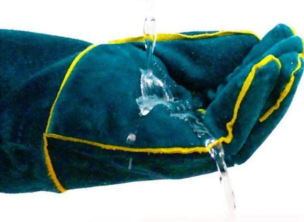 Fovely Guantes de mordida de Seguridad Anti-mordida 1 par de Guantes de manipulaci/ón de Animales Anti-mordida Anti-ara/ñazos para Perro Gato Loro Serpiente Serpiente Lagarto Reptil Animales Salvajes