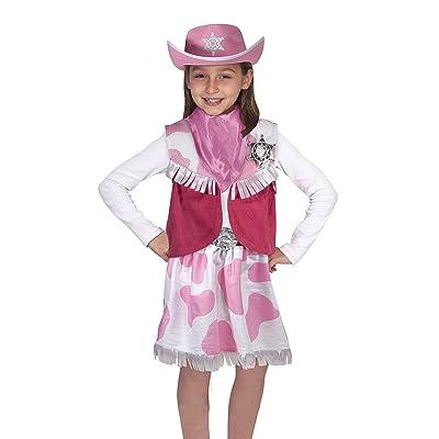 Melissa & Doug Cowgirl Role Play Costume: Melissa & Doug, Melissa & Doug: Toys & Games