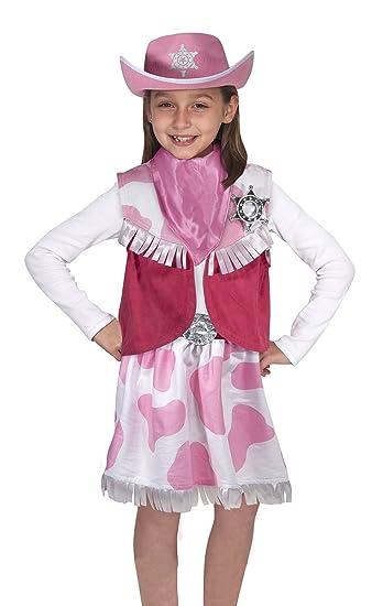 Amazon.com: Melissa U0026 Doug Role Play Cowgirl Costume Set: Melissa U0026 Doug:  Toys U0026 Games