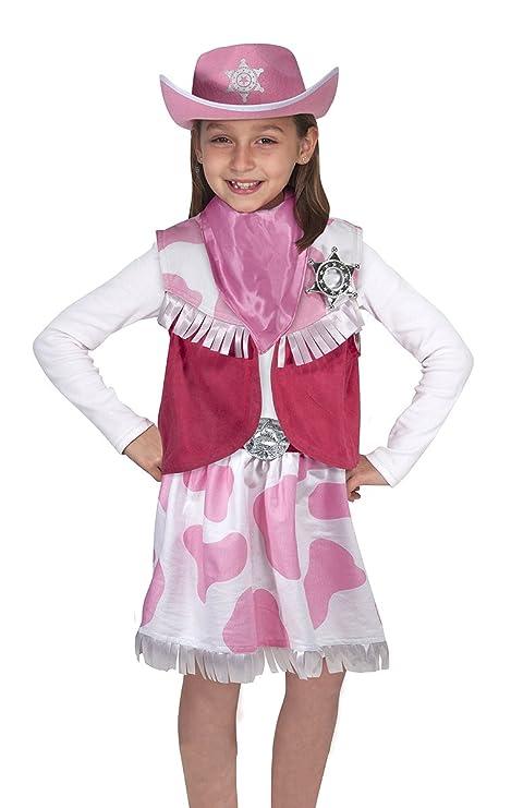 279655eb0 Melissa & Doug Role Play Cowgirl Costume Set