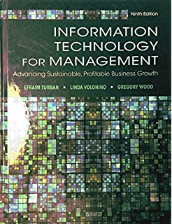 Information technology management: efraim turban, carol pollard.