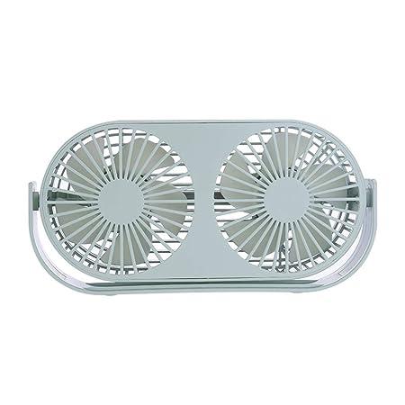 WOZOW Mini ventilador de escritorio, escritorio personal portátil ...