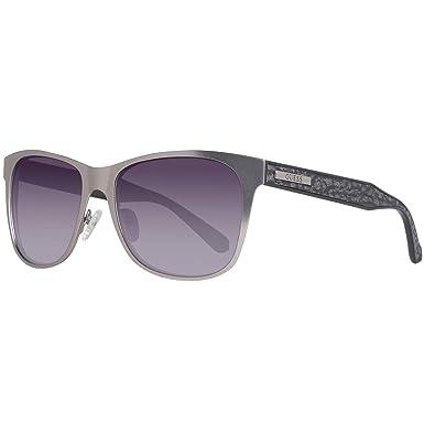 Guess Sonnenbrille Gf5003 10B 55 Gafas de Sol, Plateado ...