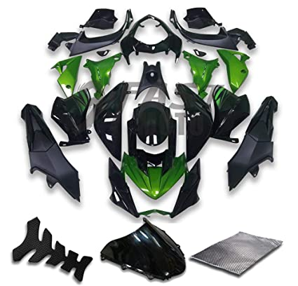 Amazon.com: 9FastMoto Fairings for Kawasaki Z800 2013 2014 ...
