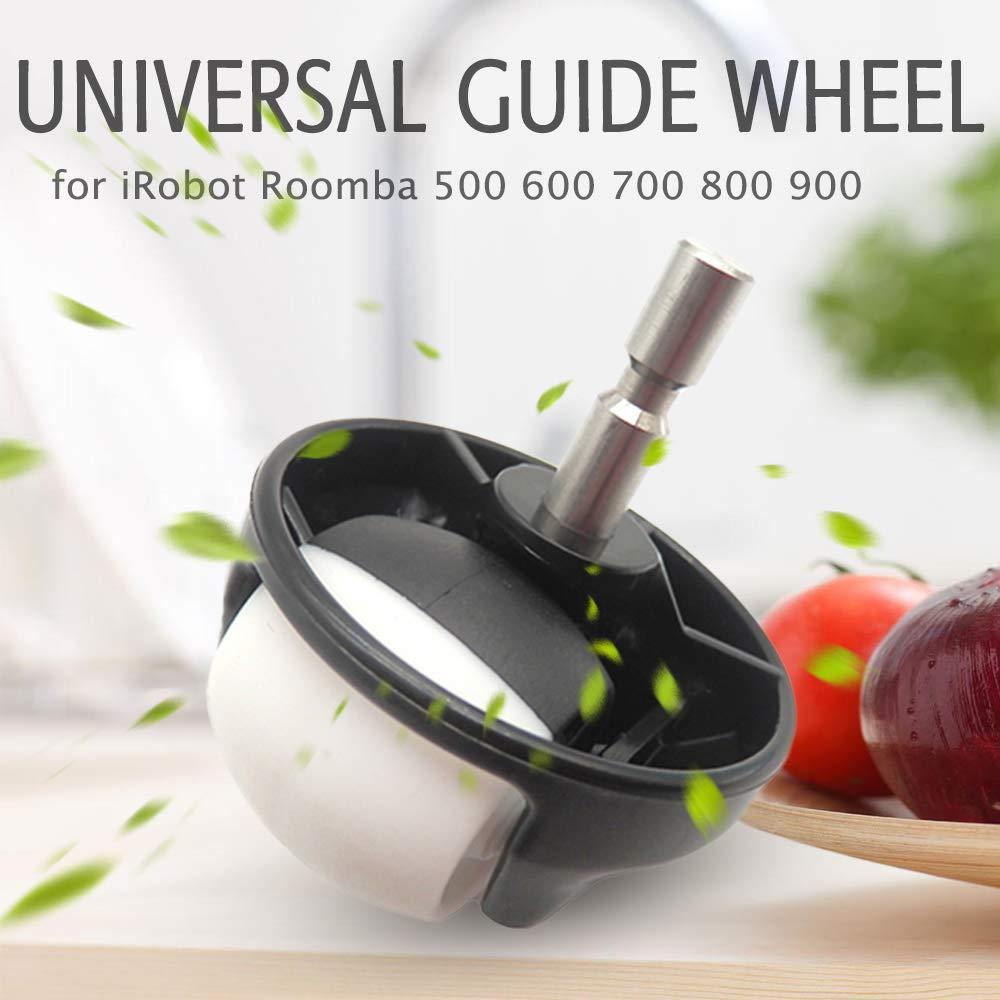 Roue de Guidage Universelle Roue de Guidage Universelle Roulette Avant Remplacement de laspirateur pour iRobot Roomba 500 600 700 800 900 Series Walmeck