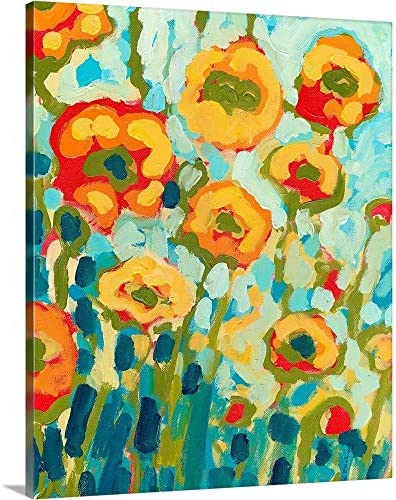California Poppies Canvas Wall Art Print