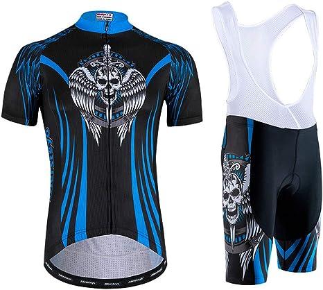 ropa de ciclismo Pantalones cortos de ciclismo para hombre acolchados para montar en bicicleta y bici