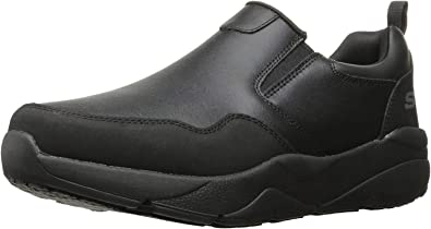 Imperio Inca Agotar Seminario  Amazon.com | Skechers Men's Resterly Work Shoe | Loafers & Slip-Ons