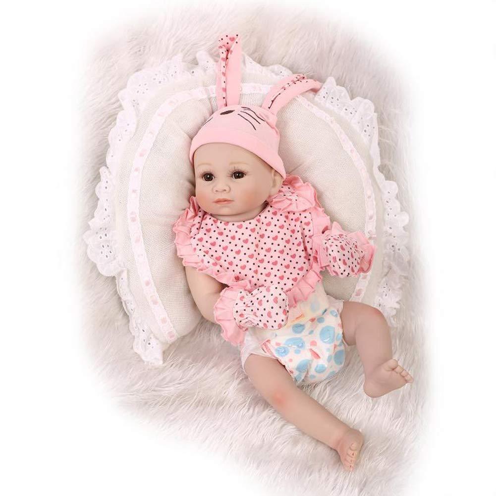 """promociones MGF Muñecas renacidas, 20""""muñecas 20""""muñecas 20""""muñecas Suaves Lindas del Vinilo del silicón de los bebés recién Nacidos con la Ropa  liquidación hasta el 70%"""