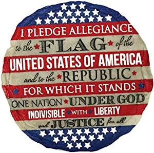 Spoontiques 13273Pledge of Allegiance Stepping Stone