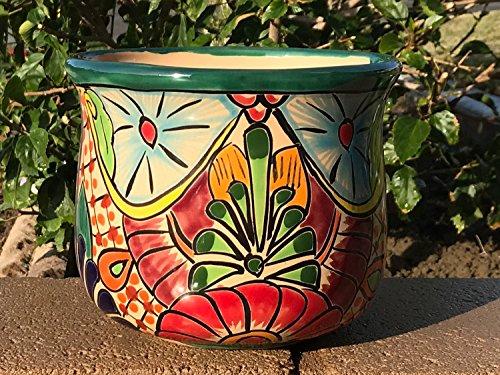(Authentic TALAVERA Ceramic Pot 7