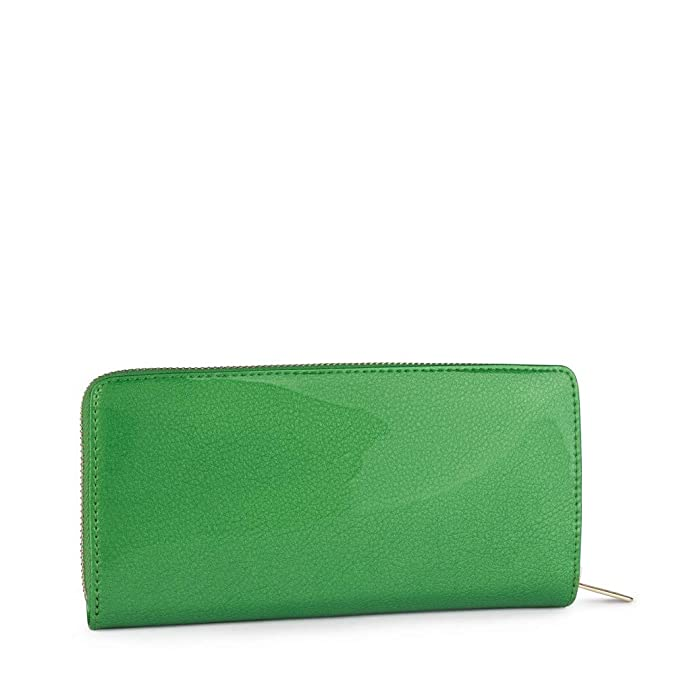 Tous 995960399, Monedero para Mujer, (Verde), 19.5x11x2 cm ...