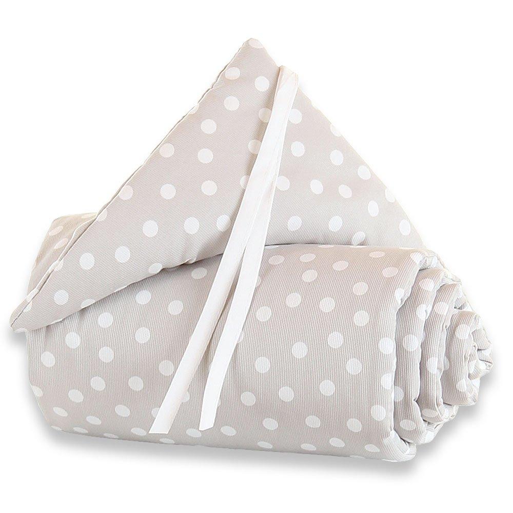 babybay maxi bumper, dots white HESS 160816