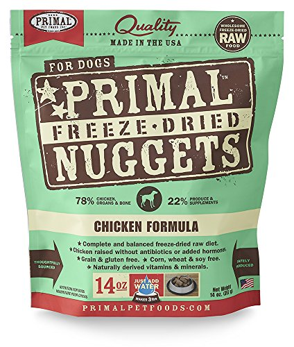 (Primal Pet Foods Freeze-Dried Canine Chicken Formula 14 Oz)