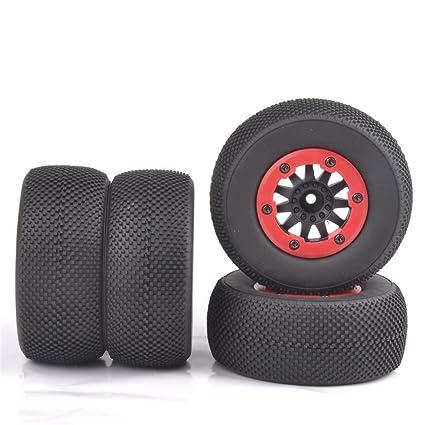 Amazon.com: ANTSIR RC 1:10 - Juego de neumáticos cortos para ...