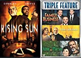 Rising Connery Collection The Rising Sun + First Knight / Family Business & Robin and Marian 4 Film Sean DVD Movie Bundle