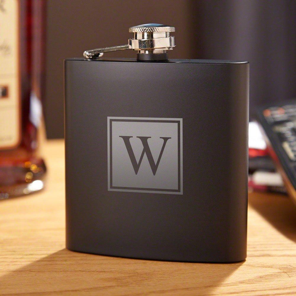 ファッションなデザイン ブラックアウトブロックモノグラムLiquorフラスコby HomeWetBar – Perfect Perfect B07BL3BJMB for Whiskey for Lovers B07BL3BJMB, ナカナカ屋:3e7f2389 --- a0267596.xsph.ru
