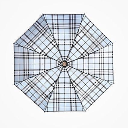 Sombrilla simple sombrilla paraguas de sol plegable sombrilla paraguas transparente paraguas UV 27 * 4 cm