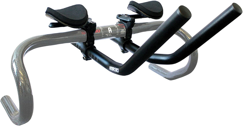 Ambrosio Atritium faible Pro Guidon en Alliage Léger Noir Pour Vélo Cycle