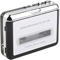 MagiDeal Super USB2.0 Cassette to MP3 Converter Capture Tape to PC Audio Music Player
