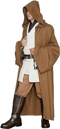 Star Wars Caballero Jedi Jedi Robe Solo - Marrón Claro - Réplica ...