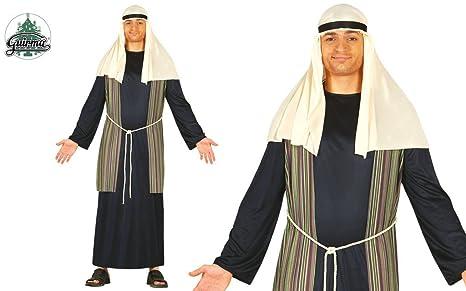 Disfraz de pastor azul adulto